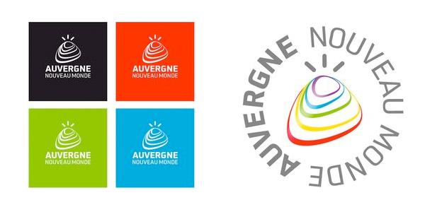 Auvergne Logovarianten