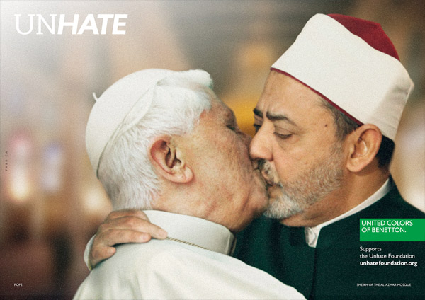 Benetton Unhate POPE AL TAYEB
