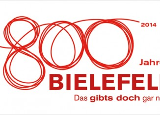 Bielefeld 800 Jahre Logo