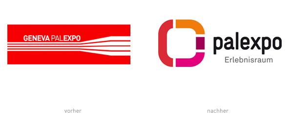 Palexpo Geneva Genf Logos