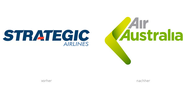 Strategic Air Australia Logos