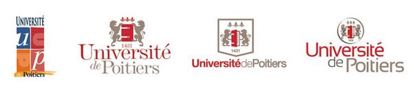 Université de Poitiers Logos Wettbewerb
