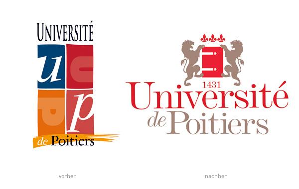 Université de Poitiers Logos
