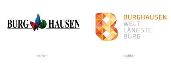 Burghausen Stadt Logos