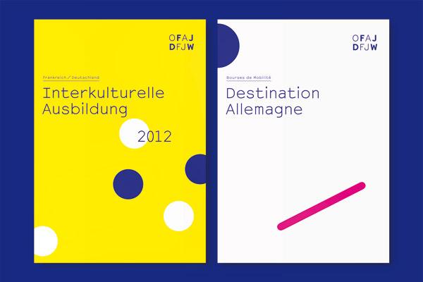 Deutsch-Französisches Jugendwerk DFJW Broschüre