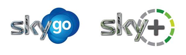 Sky go Sky+ Logo