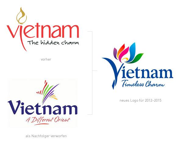 Vietnam Tourism Logos