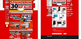 Media Markt Onlineshop Relaunch