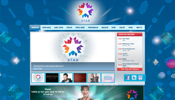Star TV Homepage