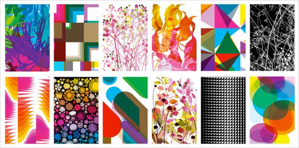 pattern poster wrapping paper Kalender