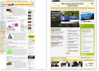 Braunschweiger Zeitung Relaunch