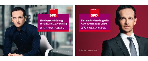Wahlplakate SPD Saarland