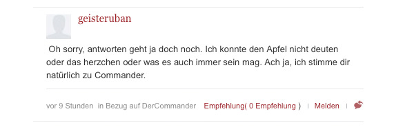 Welt.de Icon Kommentarfunktion