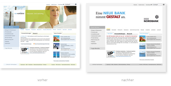 HSH Nordbank Relaunch