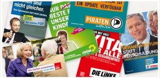 NRW Landtagswahl Plakate