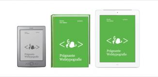 Prägnante Webtypografie