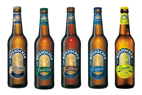Rostocker Bier Flaschen