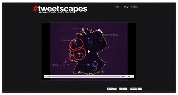 tweetscapes