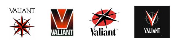 Valiant Comics Logo History