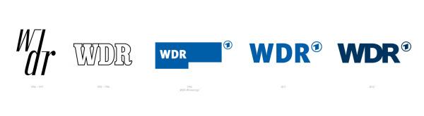 WDR Logo Historie