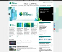 NYSE Euronext Website