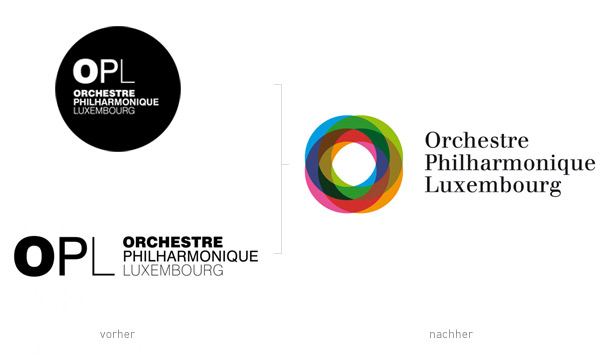 Luxembourg Philharmonic Orchestra Logos