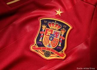 EM 2012 Trikot Spanien Wappen