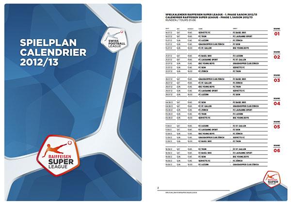 Swiss Super League Spielplan