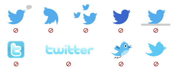 Twitter Usage Guidelines Logo
