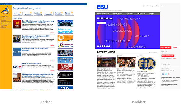 EBU Website