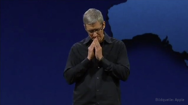 WWDC 2012 Apple Keynote Tim Cook