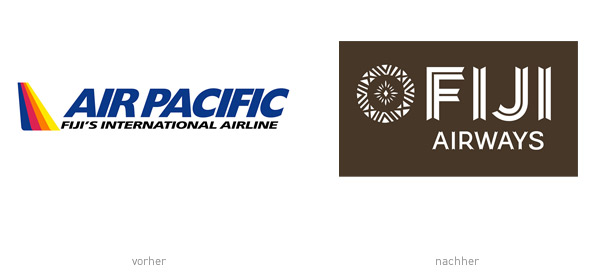 Air Pacific / Fiji Airways Logo