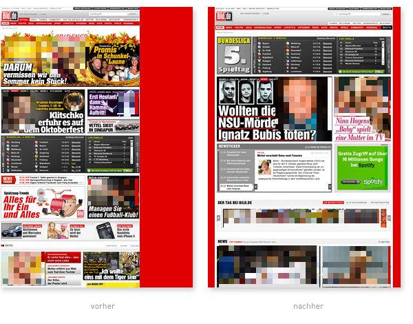 Bild Relaunch 2012