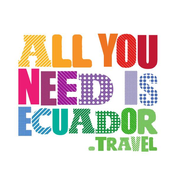 Ecuador Tourism Logo (seit 2016)