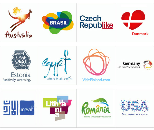 Tourismus Logos National Branding