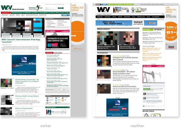 Werben & Verkaufen WUV Relaunch