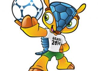 Armadillo Mascot FIFA 2014