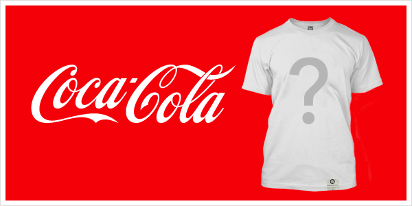 Coca Cola T-shirt Design