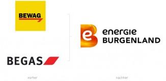 Energie Burgenland Begas Bewag Logos