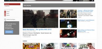 YouTube 2012 Redesign Start