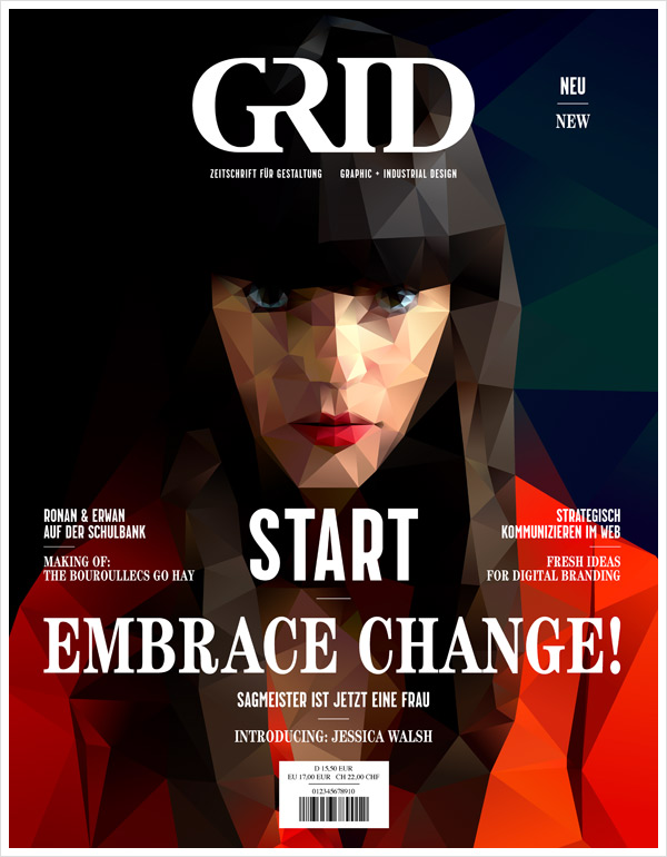 Grid Cover Erstausgabe