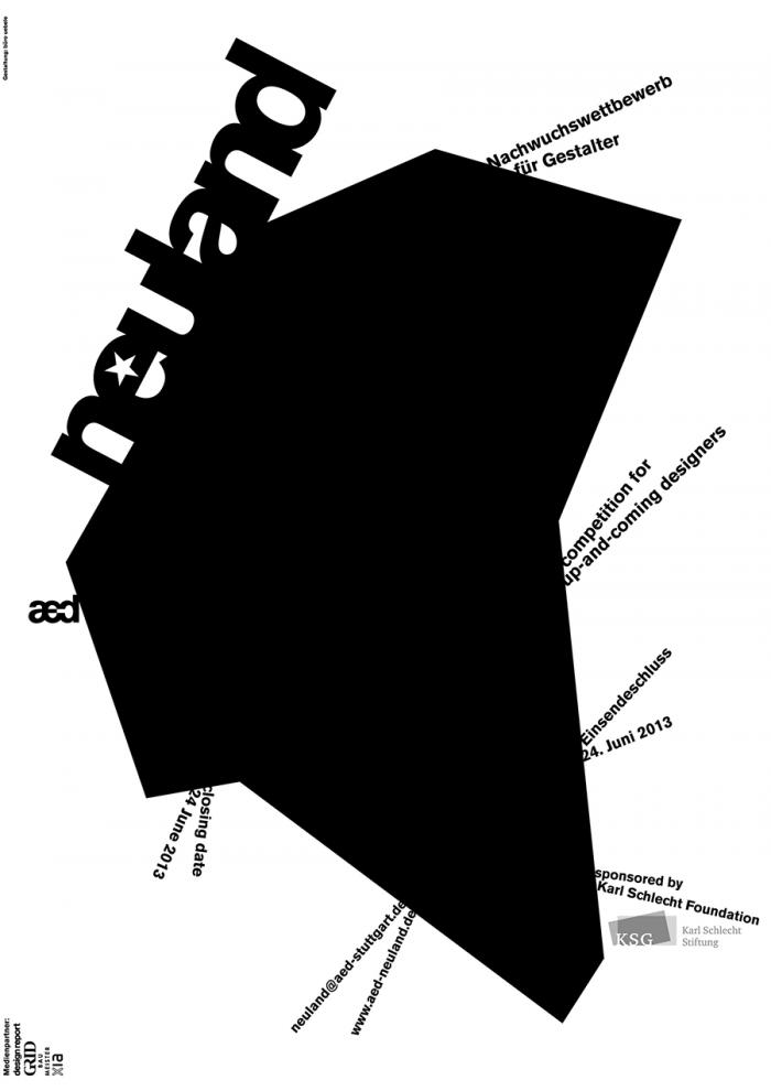 neuland 2013 – Nachwuchswettbewerb für Gestalter