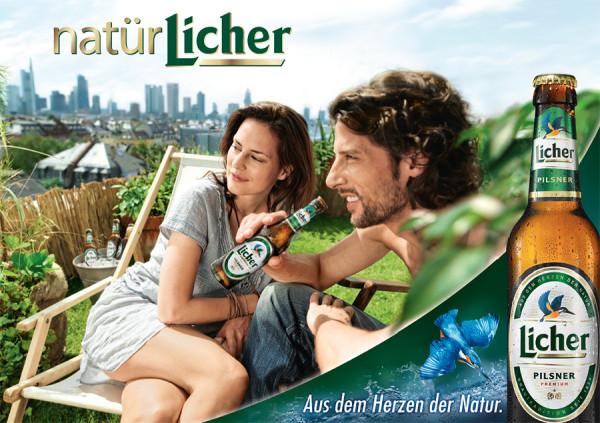 Licher Bier Werbung