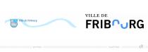 Ville de Fribourg – Stadtlogo – vorher und nachher