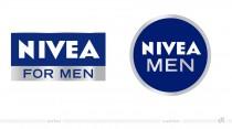 NIVEA MEN Logos – vorher und nachher