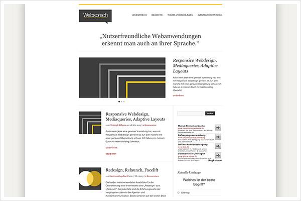 Websprech