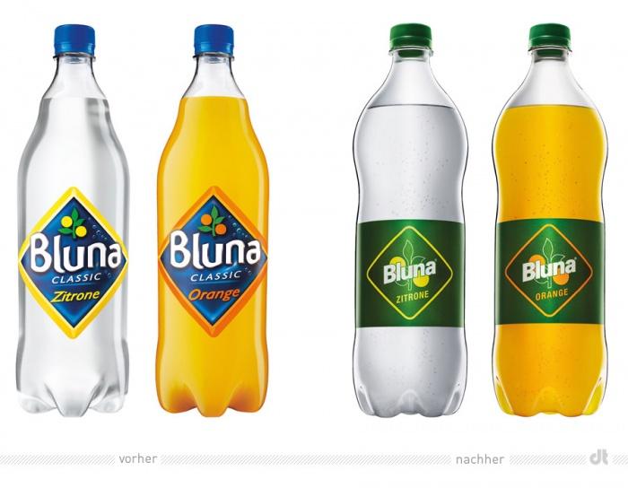 Bluna – Redesign