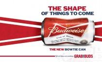 Budweiser Anzeige