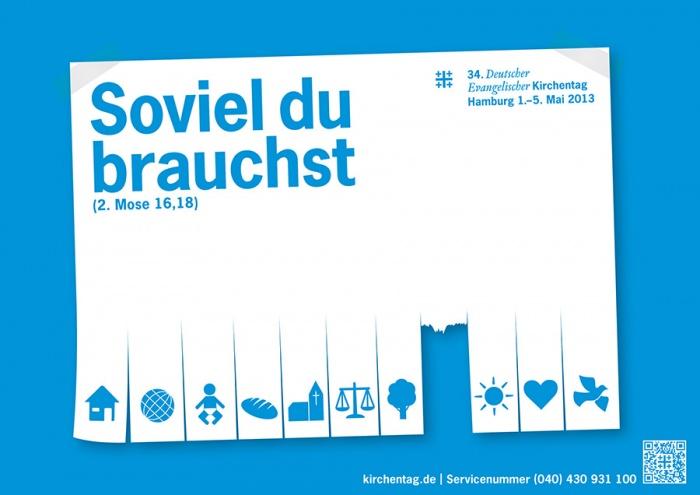 Keyvisual zum 34. Deutschen Evangelischen Kirchentag