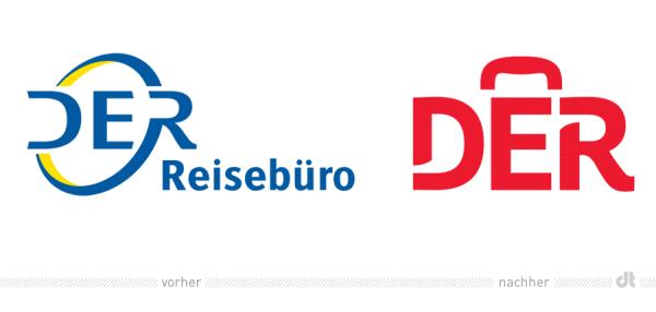 DER Reisebüro / DER Toursitik Logo